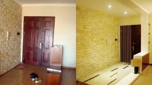 Sửa sảnh chung cư với hình ảnh trước và sau khi sửa