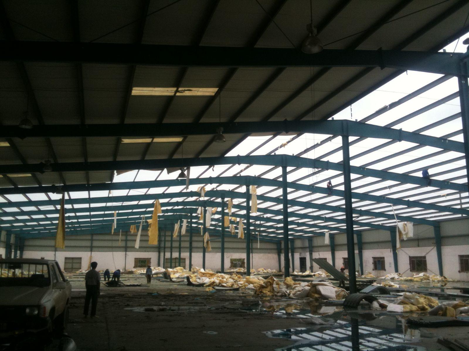 Tháo dỡ nhà xưởng an toàn