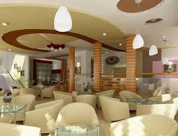 Ứng dụng trần vách thạch cao vào quán cafe