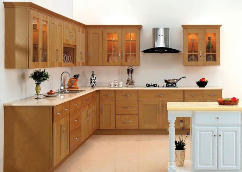 Cải tạo sửa chữa phòng bếp có diện tích trung bình