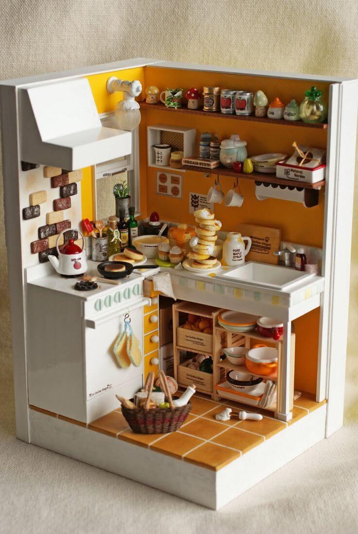Bếp mini phục vụ bữa ăn hàng ngày cho 3 người