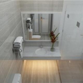 Cách sửa nhà có bếp ăn nhìn thẳng vào nhà vệ sinh