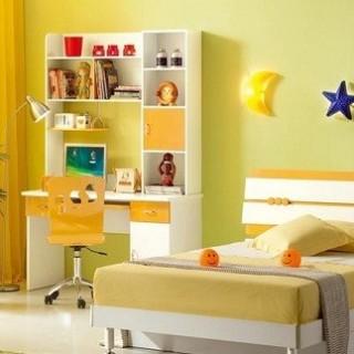 Căn phòng màu vàng xanh cho những em gái yêu thiên nhiên