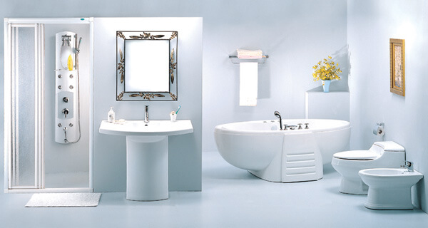 Nhà tắm nhà vệ sinh kết hợp đẹp đẽ trong phòng ngủ bố mẹ nhà 75 m2 3 tầng