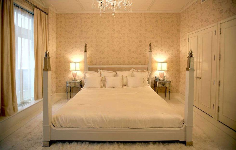 Phòng ngủ đẹp sử dụng gam màu đơn giản