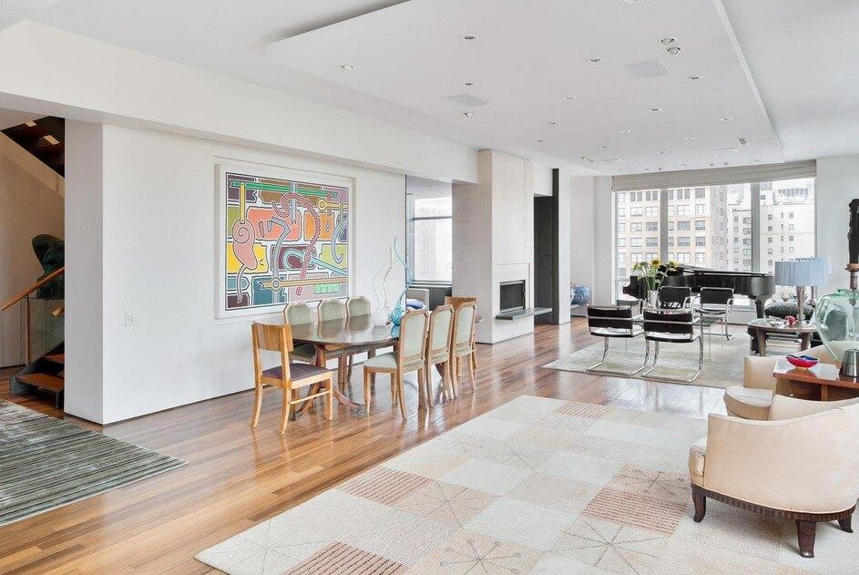 Một thiết kế mới là sự kết hợp khéo léo giữa phòng khách nahf bếp và bàn ăn khiến ngôi nhà thoáng đãng và rộng rãi hơn trong ngôi nhà 75 M2 - 3 tầng