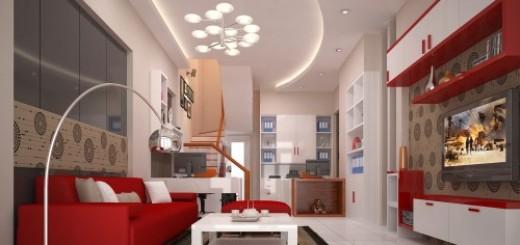 Phối màu sắc cho nội thất hiện đại
