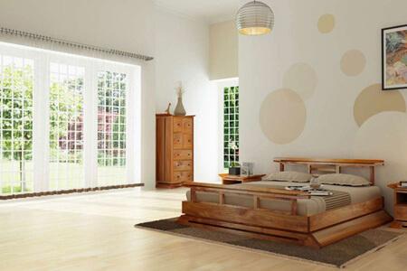 Sửa chữa phòng ngủ biệt thự mang phong cách Nhật đem lại một cảm giác ấm cúng, tự nhiên và đồ nội thất tối giản.