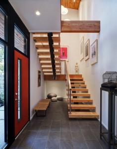 Bố trí cầu thang cho nhà nhỏ