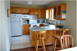 Hình ảnh căn bếp trước khi sửa lại