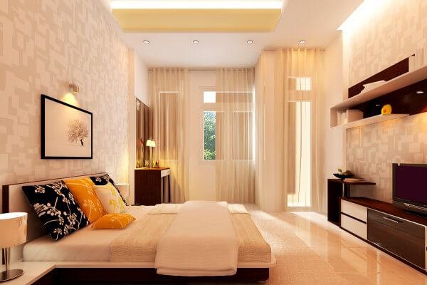 Chỉ cần thêm vào những phụ kiện nhiều màu căn phòng mầu trắng của bạn đã trở nên sáng bừng sức sống