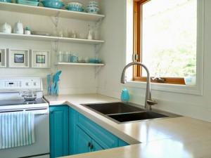 Sửa nhà bếp biệt thự bằng cách sửa lại cửa sổ