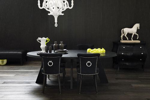 Sơn nhà với màu sơn đen trang trọng Tại sao không?