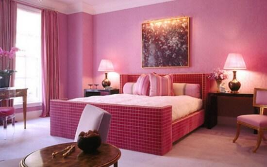 Mầu hồng ấm áp cho ngôi nhà thân thương