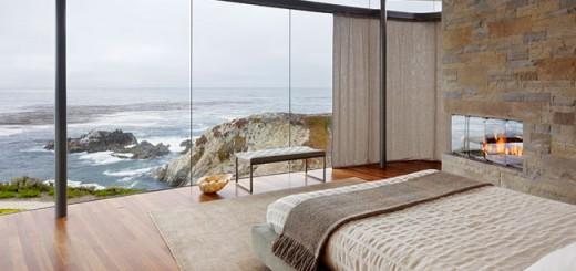 Mẫu phòng ngủ với cửa kính đẹp tuyệt vời