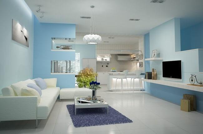 màu sắc của ngôi nhà có ý nghĩa quan trọng