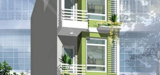 Màu sơn nhà phố cần phải phù hợp với kiến trúc