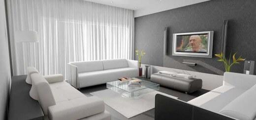 Màu sơn nhà trung tính là những màu có sắc thái trắng, xám hoặc nâu.