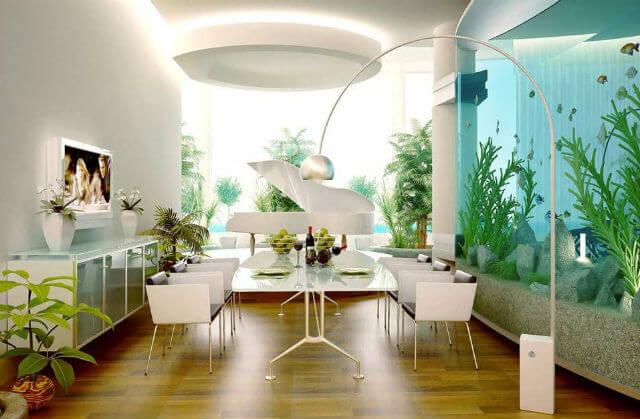 Mẹo lựa chọn màu sơn hợp với ngôi nhà màu trắng ngà cho sơn phòng khách