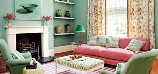 Những mầu sơn ấm cúng nhẹ nhàng cho ngôi nhà