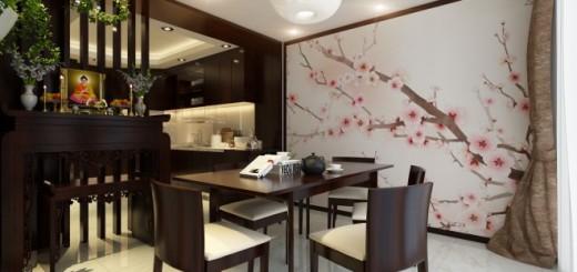 Phòng ăn theo phong cách Nhật