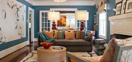 Mầu sơn đẹp cho phòng khách