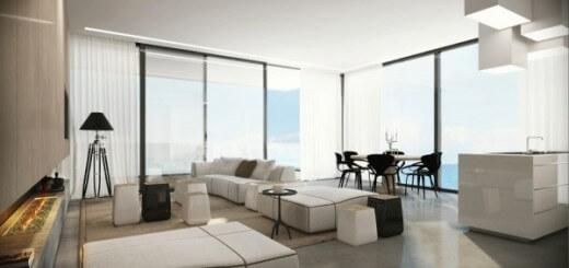 Phòng khách rộng hơn với không gian mở