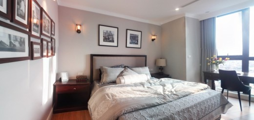 Phòng ngủ tràn ngập ánh sáng giúp cho bạn có khí thế để bắt đầu ngày mới