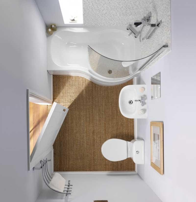 Phòng tắm là không gian thể hiện rõ nhất phong cách trẻ trung và năng động của chủ nhân