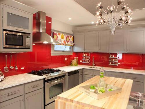 phong thủy và màu sắc không gian bếp
