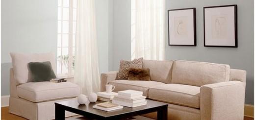 Sơn nội thất với gam màu xám