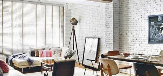 sơn tường gạch nội thất với vài bước đơn giản