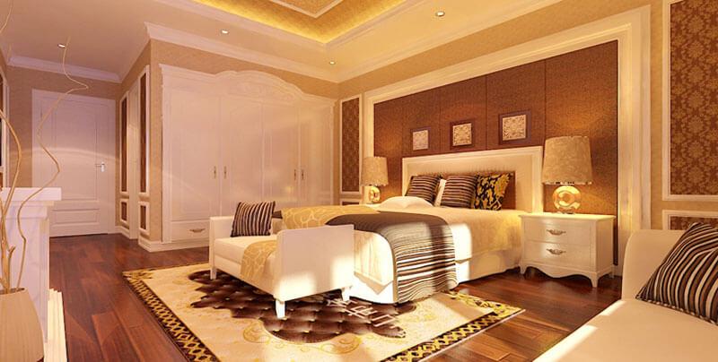 Sự đơn giản trong thiết kế với cách bố trí đồ đạc cực kì hợp lý khi sửa chữa biệt thự tại Hà Nội