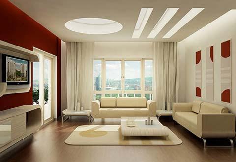 Bộ bàn ghế đầy và màu sắc làm điểm nhấn mới, sau sửa chữa phòng khách chung cư đẹp hút hồn.