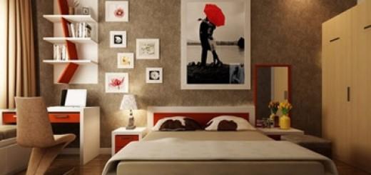 Thiết kế thêm ở góc phòng ngủ cũng làm phòng ngủ trở nên rộng rãi hơn