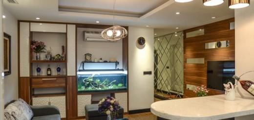 Cải tạo căn hộ tập thể cũ ở Hà Nội đẹp như chung cư cao cấp