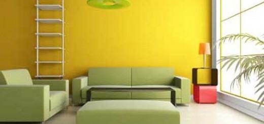 Dịch vụ sơn nhà mầu vàng phối cảnh đẹp chuyên nghiệp tại Hà Nội