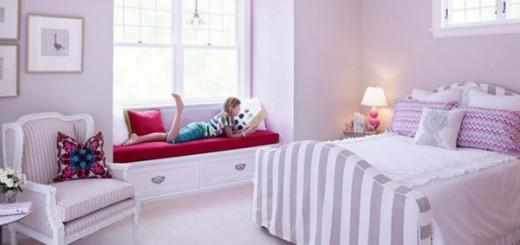 Màu sắc lãng mạn cho nội thất ngôi nhà