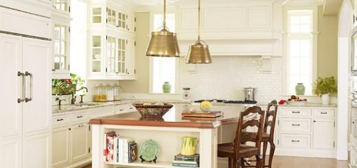 Sơn nhà sửa bếp với gàm màu sáng