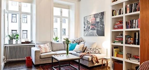 Sửa căn hộ 38m2 đẹp hút hồn