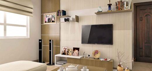 Sửa nhà cải tạo căn hộ nhỏ từ 2 thành 3 phòng ngủ