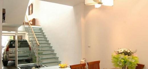 Sửa nhà phố ấn tượng với không gian cầu thang