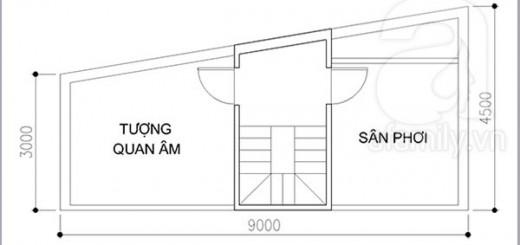 Thiết kế nhà ống chi phí 850 triệu