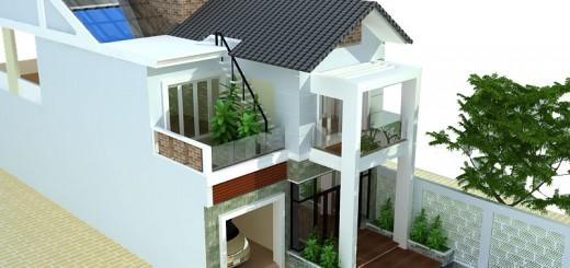 Thiết kế nhà biệt thự phố