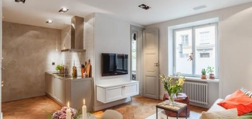 Cải tạo căn hộ chung cư 34m2 với không gian riêng tư