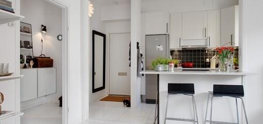 Cải tạo căn hộ 41m2 trắng sáng đẹp lung linh