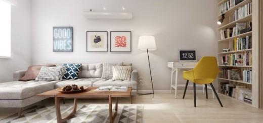 Cải tạo căn hộ 60m2 đẹp lung linh cho vợ chồng trẻ