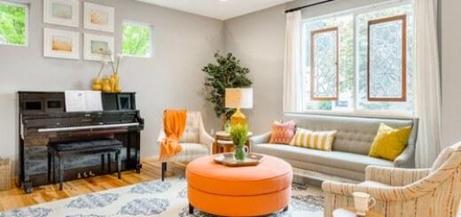 Cải tạo phòng khách nhỏ thông thoáng hiện đại