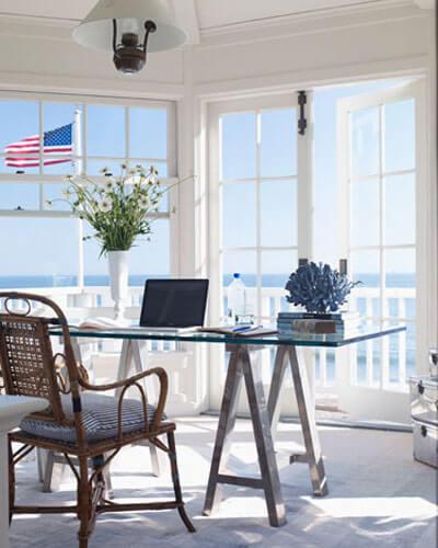 Sửa nhà cải tạo những căn phòng gần với thiên nhiên, phòng làm việc có tầm nhìn thoáng đãng