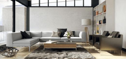 Màu sơn và nội thất đẹp và lạ cho phòng khách